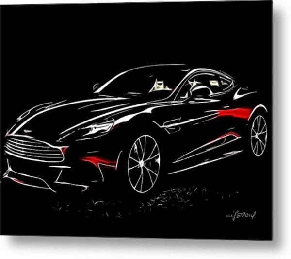 2013 Aston Martin Vanquish Metal Print
