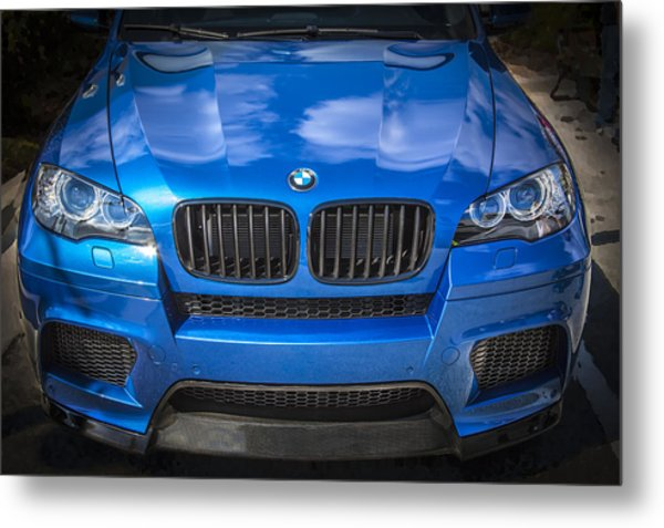 2013 Bmw X6 M Series Metal Print