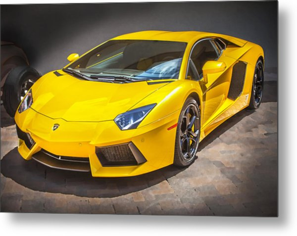 2013 Lamborghini Adventador Lp 700 4 Metal Print