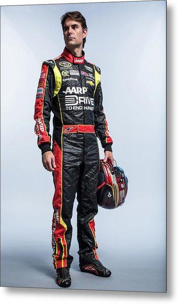 2013 Nascar Sprint Cup Series Stylized Metal Print by Nick Laham