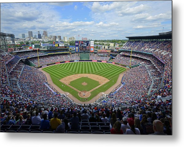 2013 Turner Field Metal Print