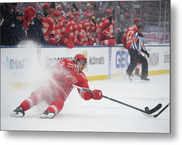 2014 Bridgestone Nhl Winter Classic - Metal Print