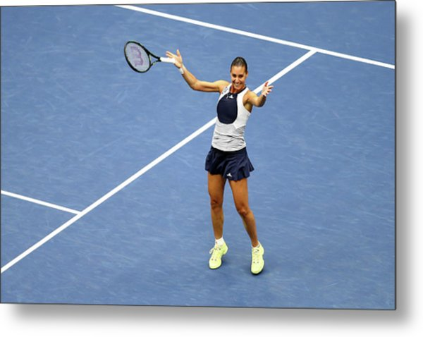 2015 U.s. Open - Day 13 Metal Print
