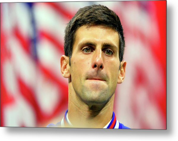 2015 U.s. Open - Day 14 Metal Print