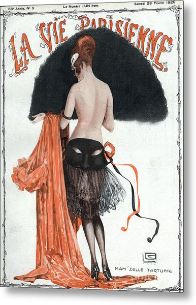 La Vie Parisienne  1920 1920s France Metal Print