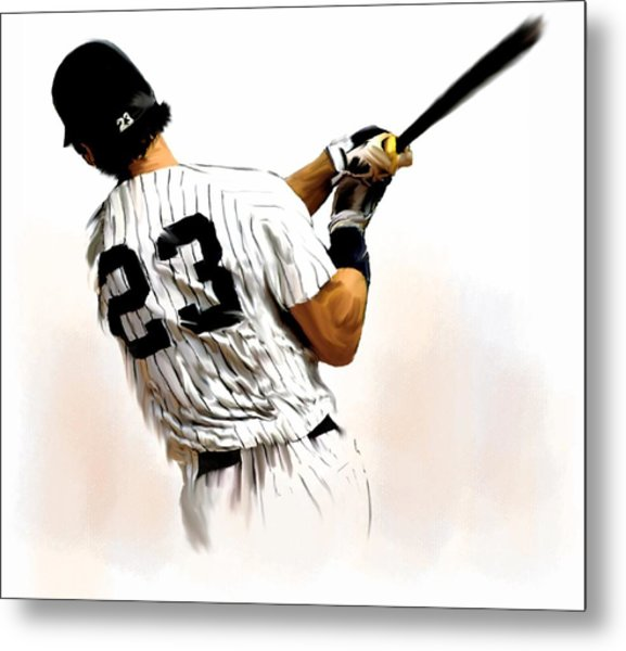 23   Don Mattingly  Metal Print
