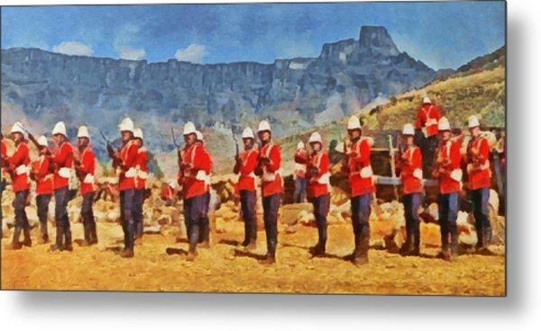 24th Regiment Of Foot - En Garde Metal Print