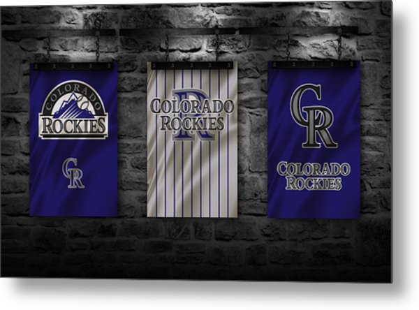 Colorado Rockies Metal Print
