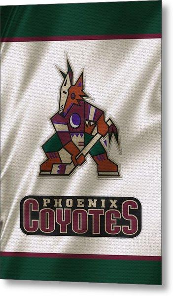 Phoenix Coyotes Metal Print