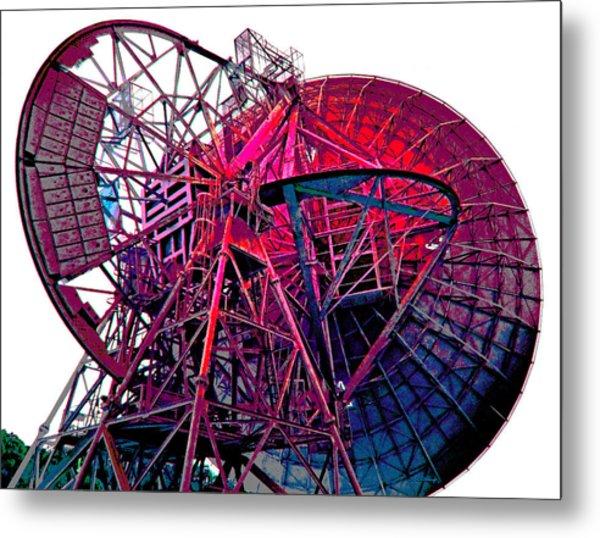 26 East Antenna Abstract 4 Metal Print