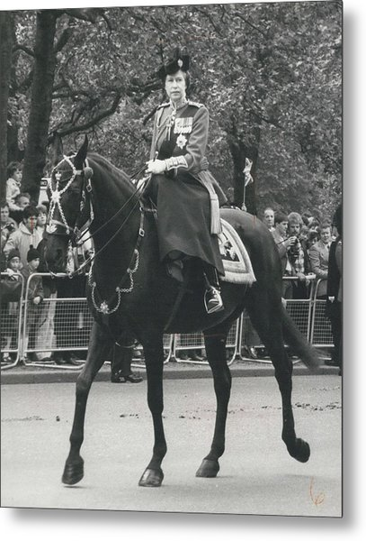 Trooping The Colour Ceremony Metal Print by Retro Images Archive