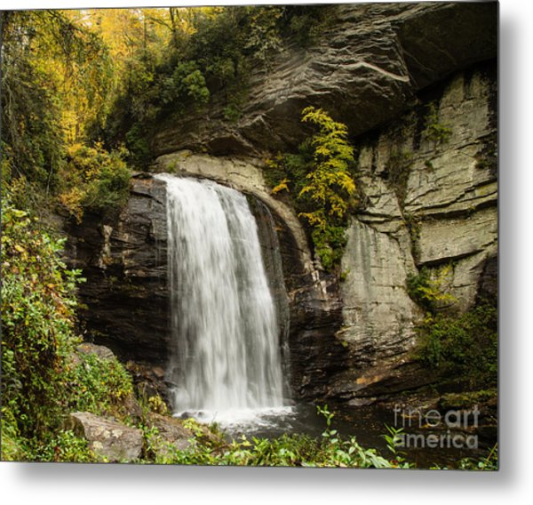 2719 Looking Glass Falls Metal Print by Stephen Parker