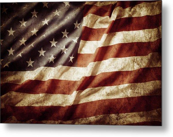 American Flag 53 Metal Print