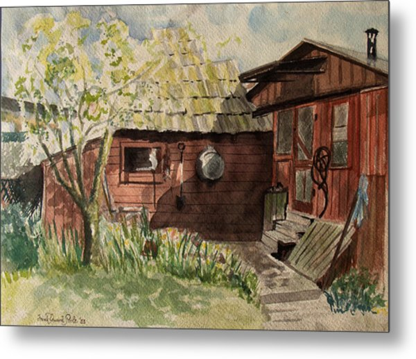 A Shanty Called Home Metal Print