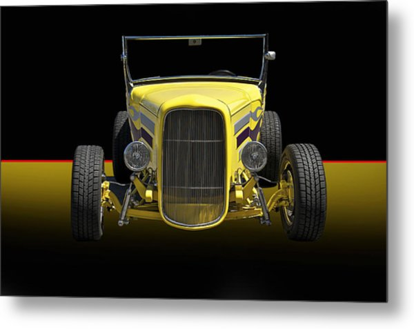 1930 Ford Model A Roadster Metal Print by Dave Koontz