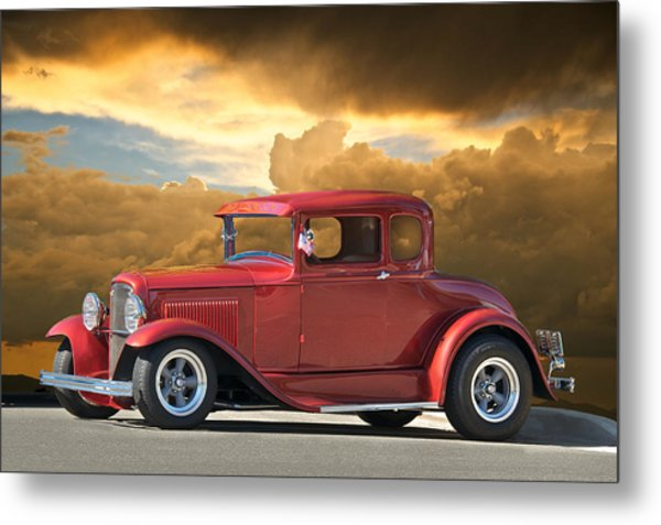 1931 Ford Model A Coupe Metal Print by Dave Koontz