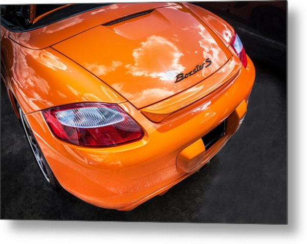 2008 Porsche Limited Edition Orange Boxster  Metal Print