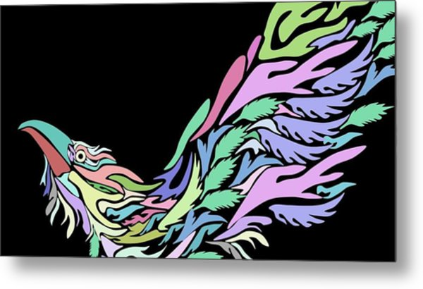 Bird Metal Print by Moshfegh Rakhsha
