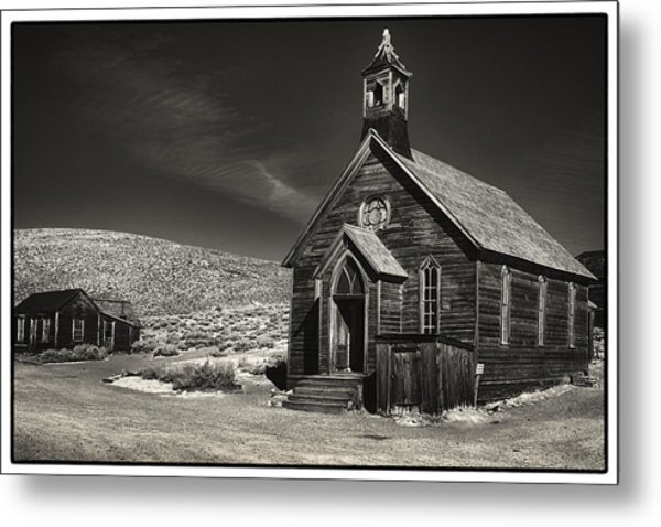 Bodie Church Metal Print by Robert Fawcett