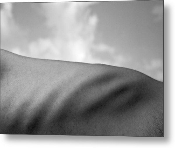 Bodies Of Land Metal Print by Christopher Prosser