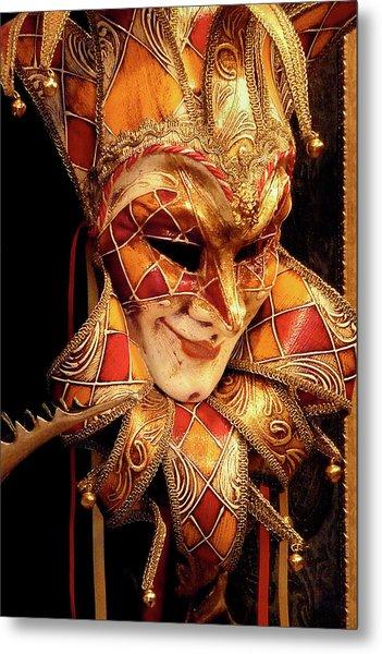 Carnivale Mask 1 Metal Print