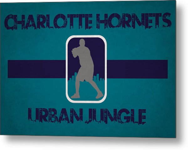 Charlotte Hornets Metal Print