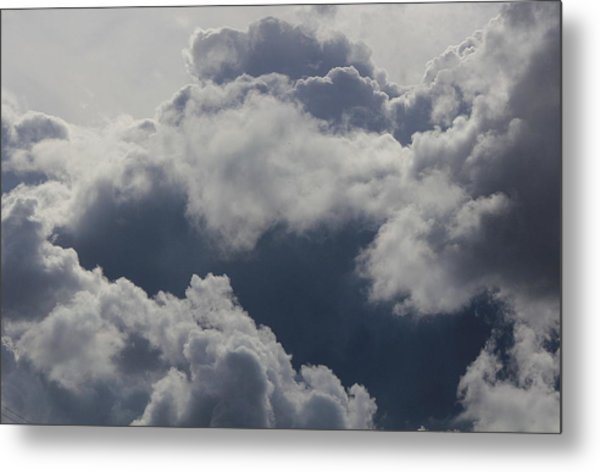 Cloudscape Metal Print by Ron Romanosky