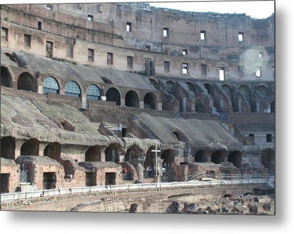 Coloseum Metal Print by Dick Willis