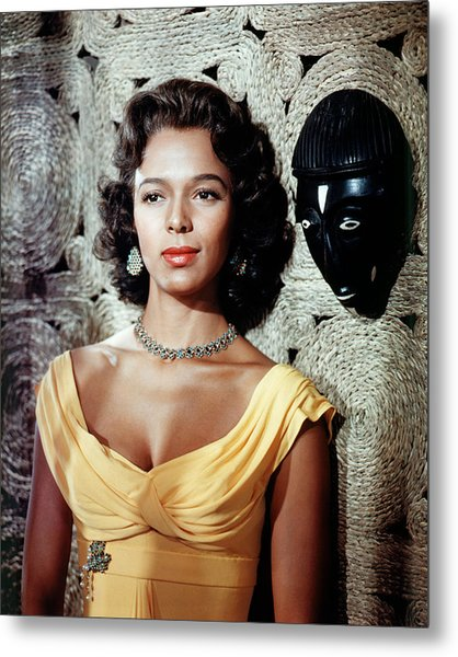 Dorothy Dandridge Metal Print by Silver Screen