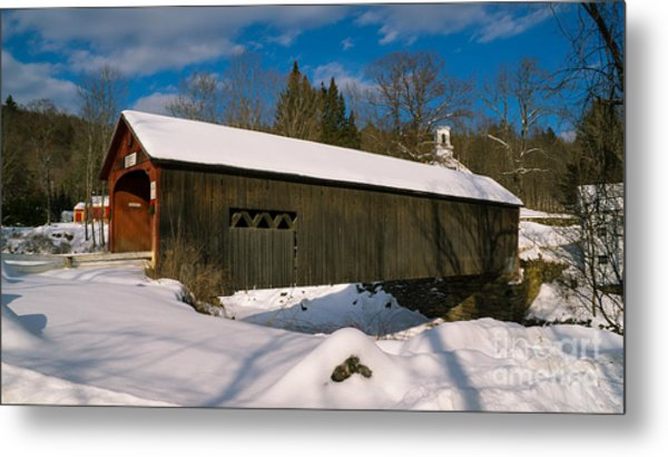 Green River Covered Bridge. Metal Print