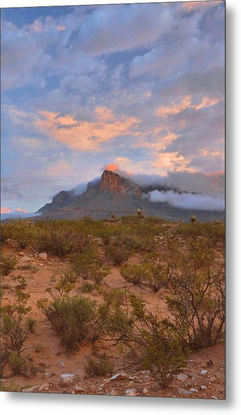 Guadalupe Mountains Sunrise Metal Print