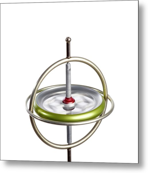 Gyroscope Metal Print by Science Photo Library