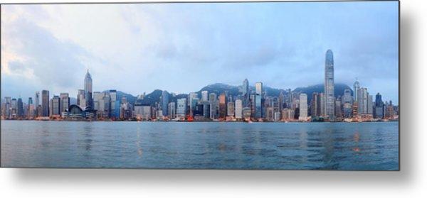 Hong Kong Morning Metal Print by Songquan Deng