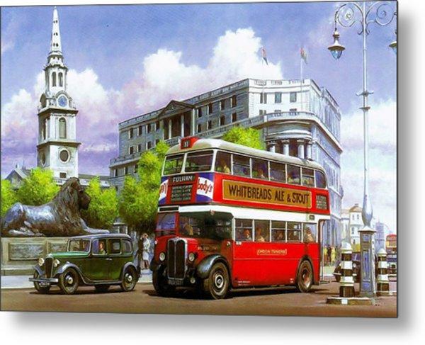 London Transport Stl Metal Print