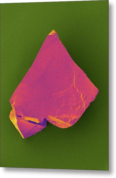 Microdiamond Metal Print