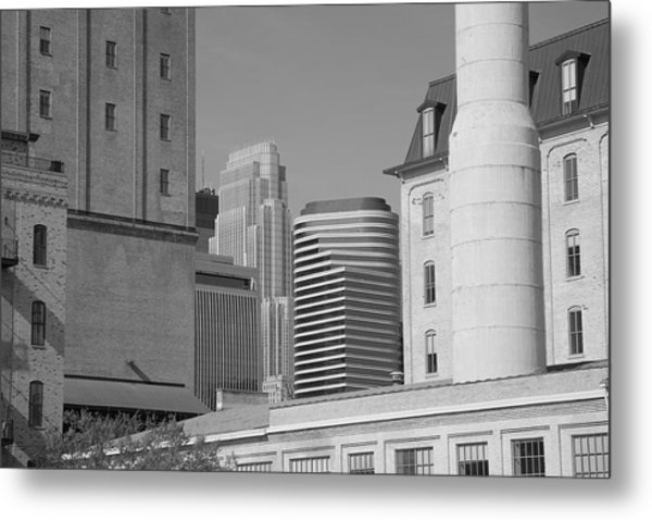 Minneapolis Metal Print