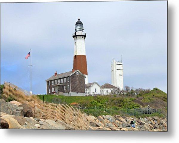 Montauk Lighthouse Long Island New York Metal Print