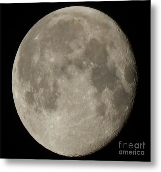 Moon Metal Print by Jennifer Kimberly