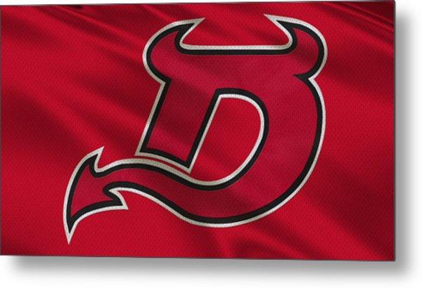 New Jersey Devils Uniform Metal Print