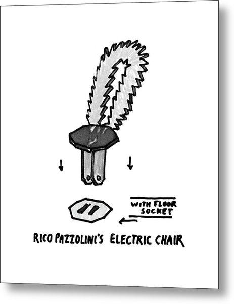 New Yorker November 30th, 1992 Metal Print