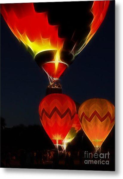 Night Of The Balloons Metal Print