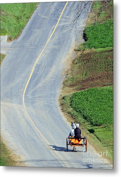 Onward And Upward Metal Print