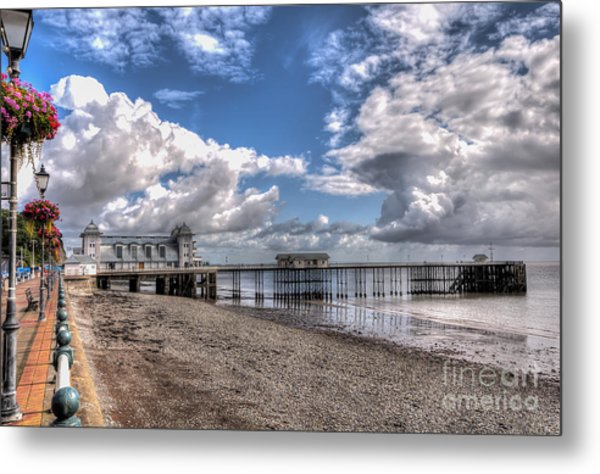 Penarth Pier 3 Metal Print