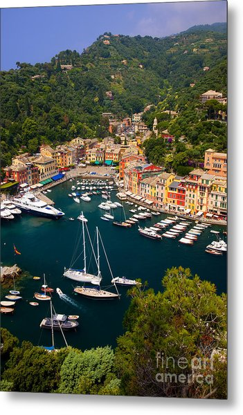 Metal Print featuring the photograph Portofino by Brian Jannsen