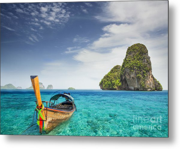 Railay Beach Metal Print
