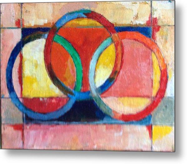3 Rings II Metal Print by Mark Opdahl