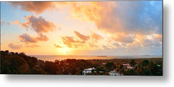 San Juan Sunrise Metal Print