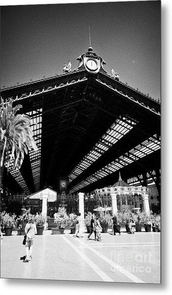 Santiago Central Railway Station Chile Metal Print by Joe Fox