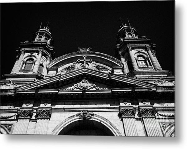 Santiago Metropolitan Cathedral Chile Metal Print by Joe Fox