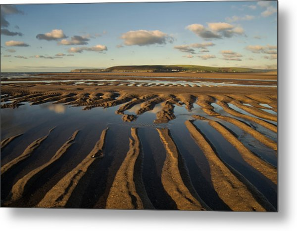 Saunton Sands Devon Metal Print
